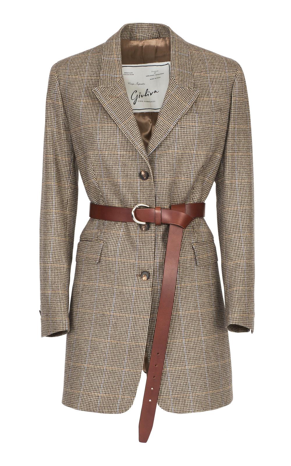 Giuliva Heritage Collection The Karen Jacket in brown