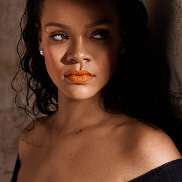 make-up rihanna celebrity lipstick lips fenty