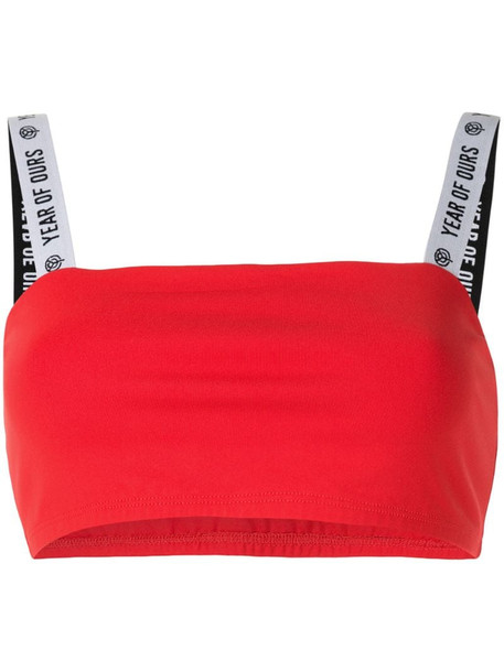 Year Of Ours Kimberly sports bra in red
