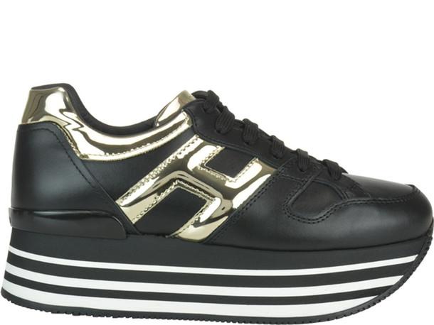 Hogan H283 Sneakers in black