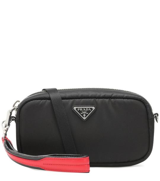 Prada Nylon camera bag in black