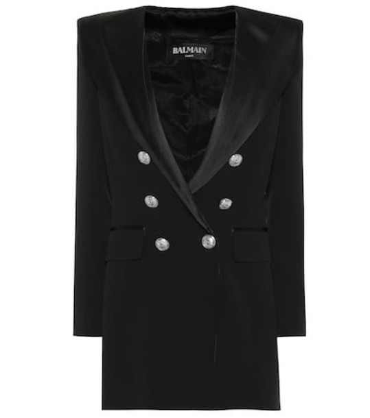 Balmain Hooded jacket in black