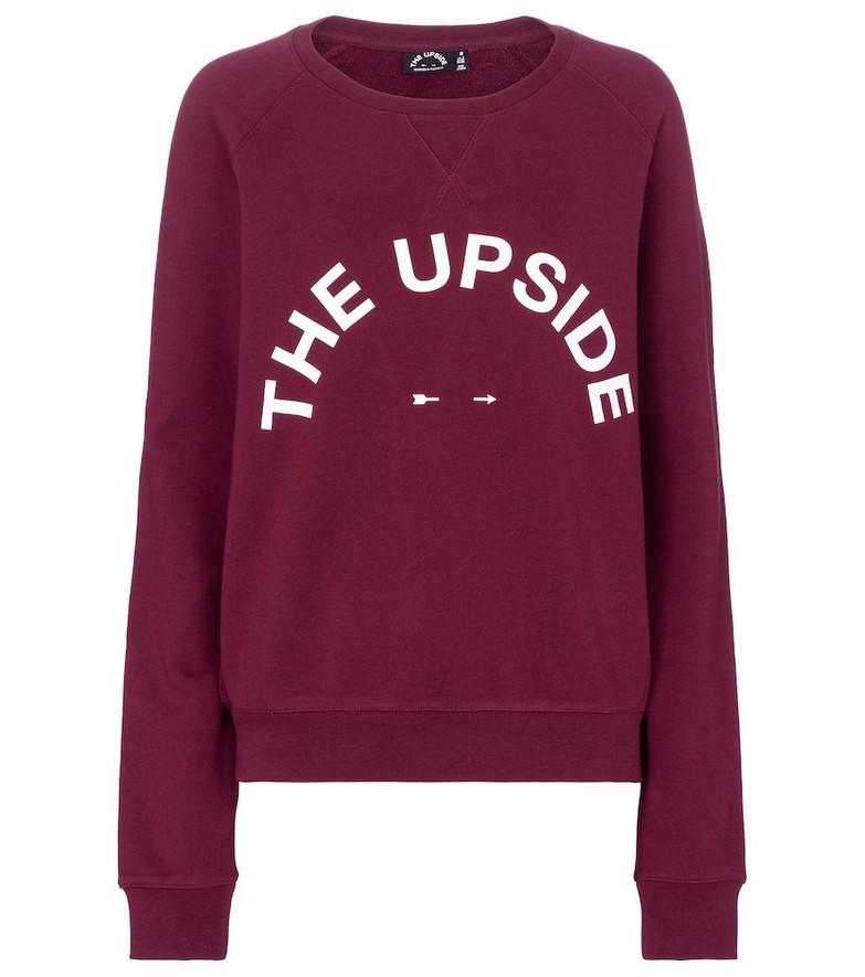 The Upside Bondi cotton jersey sweatshirt in red