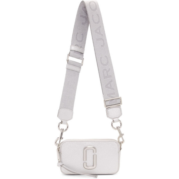 Marc Jacobs Silver Small Snapshot Bag