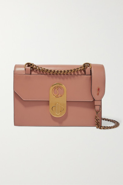 Christian Louboutin - Elisa Small Leather Shoulder Bag - Pink