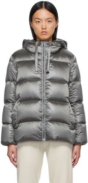 Max Mara Down Nylon Quilted Spacey Jacket