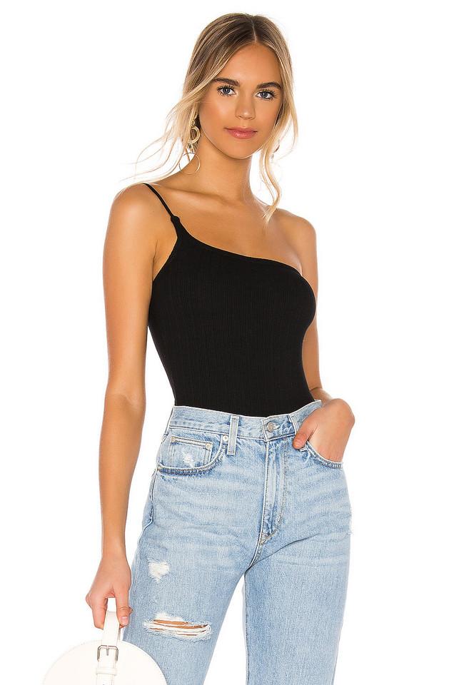 MAJORELLE Tammie Bodysuit in black