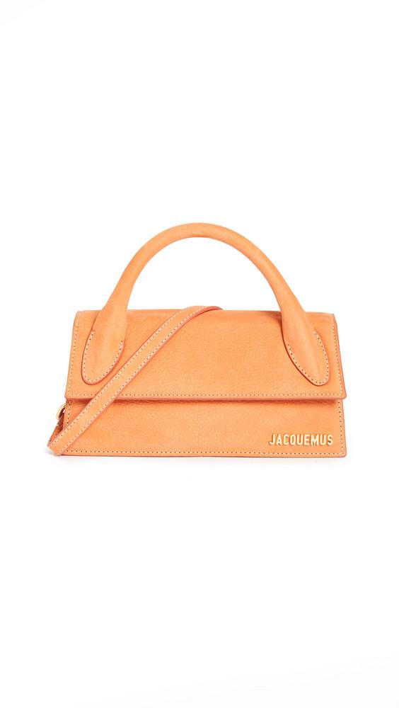 Jacquemus Le Chiquito Long Bag in orange
