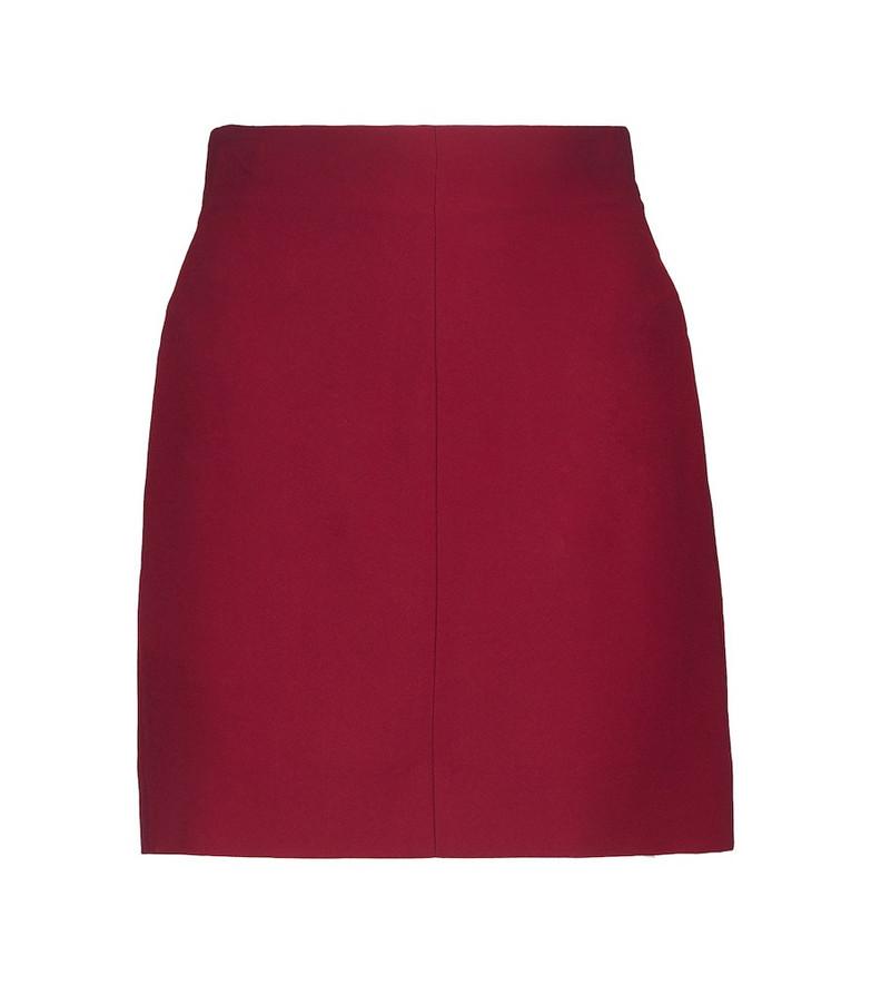 Nensi Dojaka Crêpe high-rise mini skirt in pink