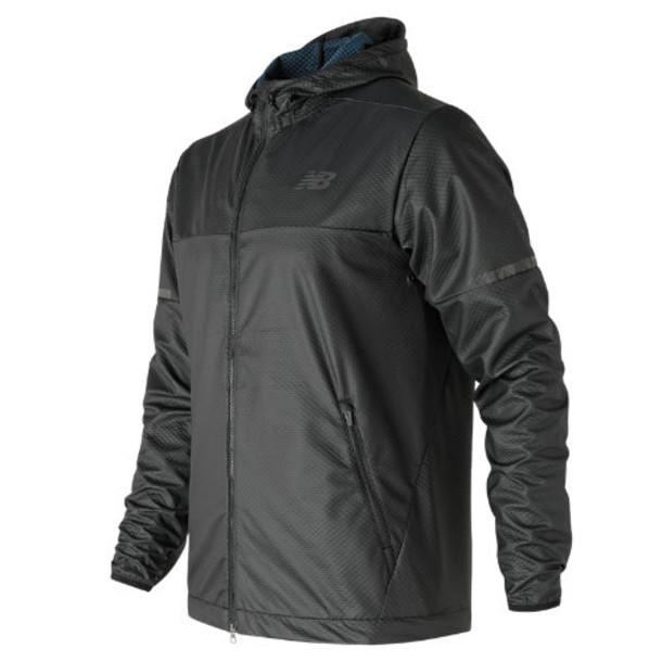 New Balance 71048 Men's Max Intensity Jacket - Black/Blue (MJ71048BK)