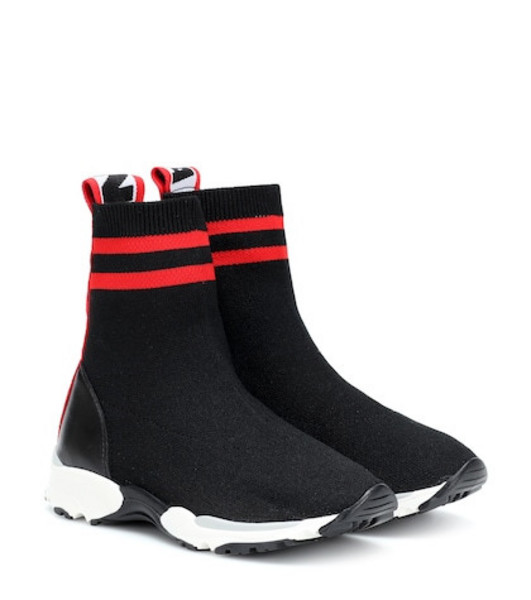 Stella McCartney Kids Sock sneakers in black