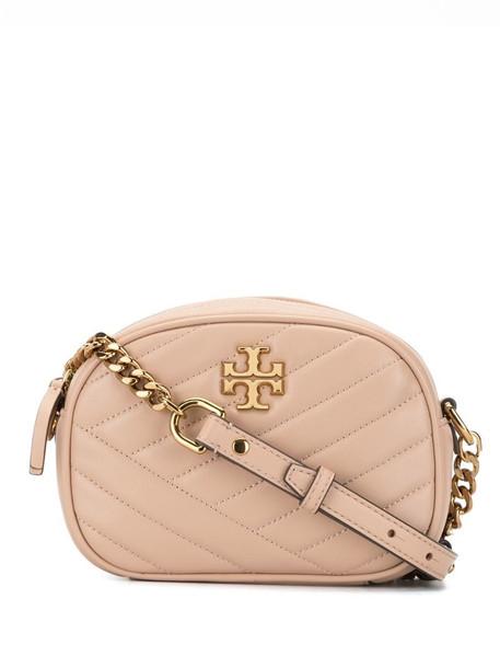 Tory Burch Kira chevron-quilted crossbody bag in pink