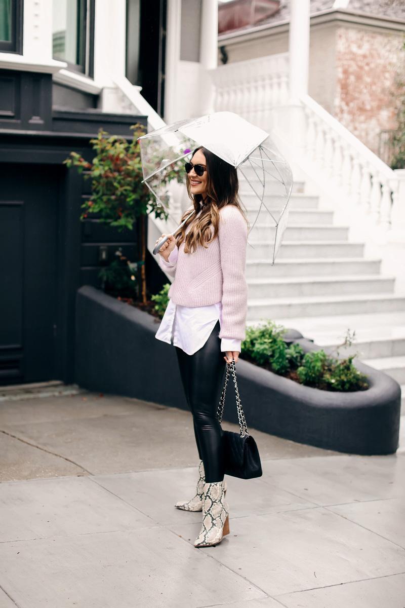 carriebradshawlied blogger sweater leggings shoes sunglasses shirt