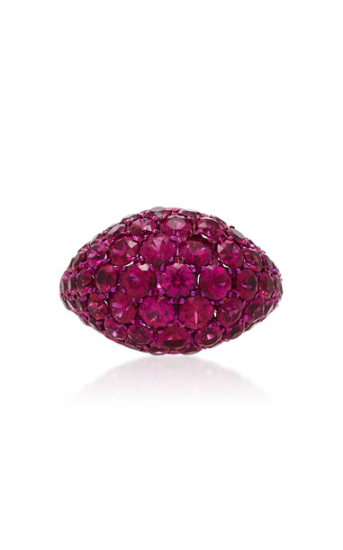 Busatti America Ruby Ring in pink