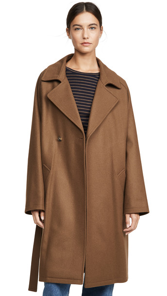 A.P.C. A.P.C. Manteau Bakerstreet Coat in brown