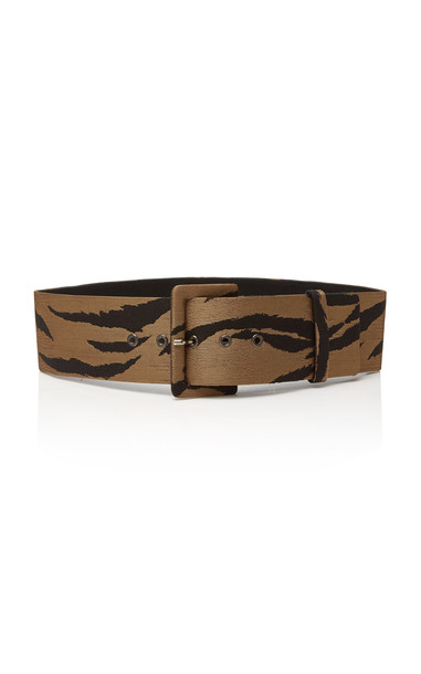 Carolina Herrera Exclusive Printed Waist Belt