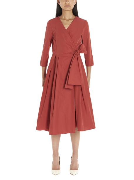 Weekend Max Mara manioca Dress in red