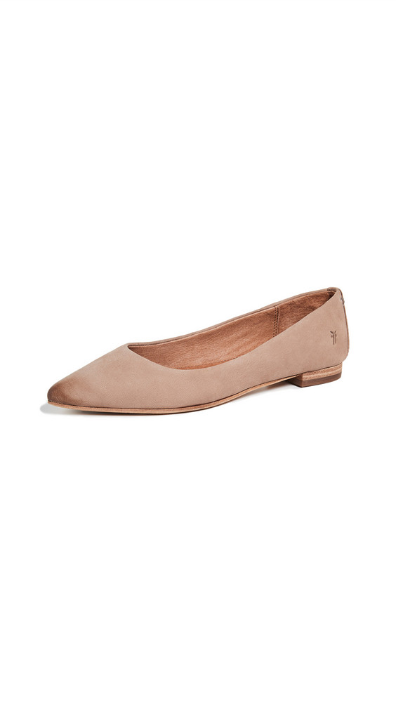 Frye Sienna Ballet Flats in taupe