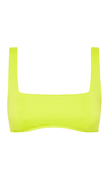 Bondi Born Aria Bikini Top in yellow