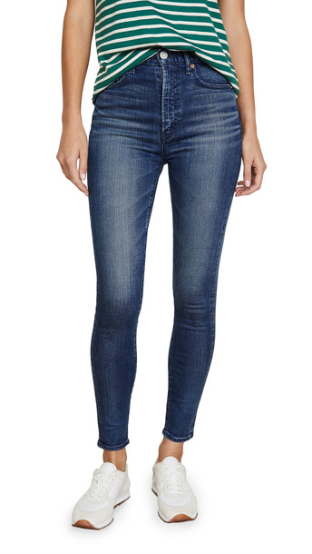 MOUSSY VINTAGE Willows Rebirth Skinny Jeans in blue