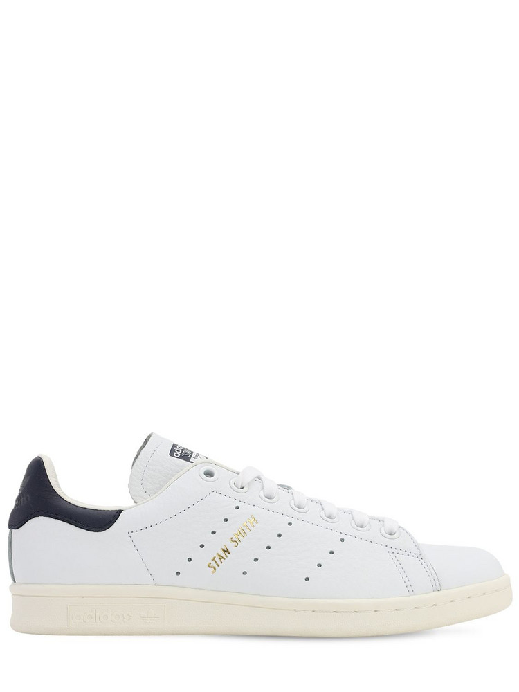 ADIDAS ORIGINALS Stan Smith Leather Sneakers in navy / white
