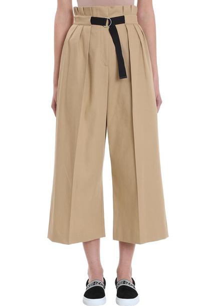 Kenzo Culotte Skirt in beige