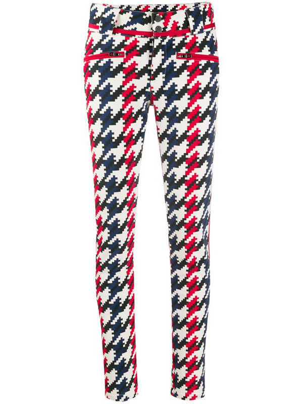 Perfect Moment Aurora skinny trousers in red