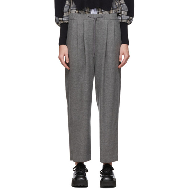 Enfold Grey Relaxed Lounge Pants
