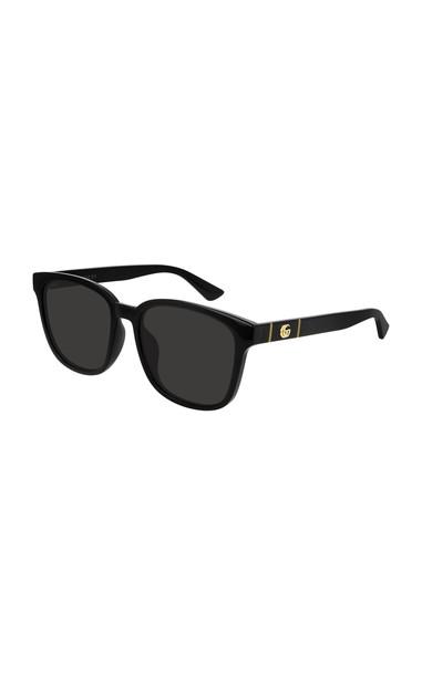 Gucci Square-Frame Acetate Sunglasses in black