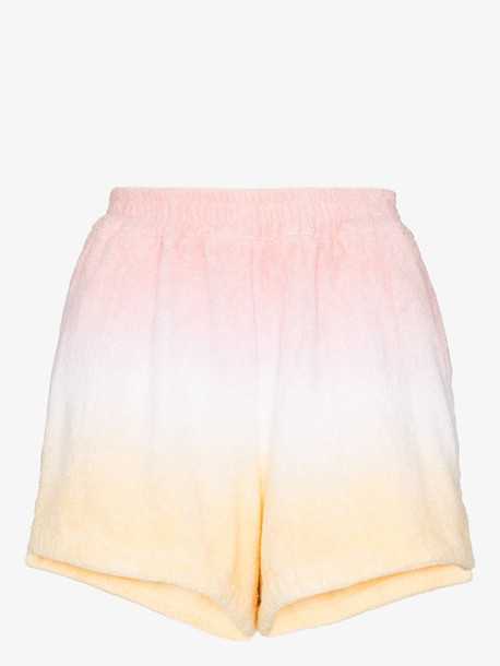 TERRY TOWELLING TERRY ESTATE SHORT SD SPLT STP HM WARM in pink