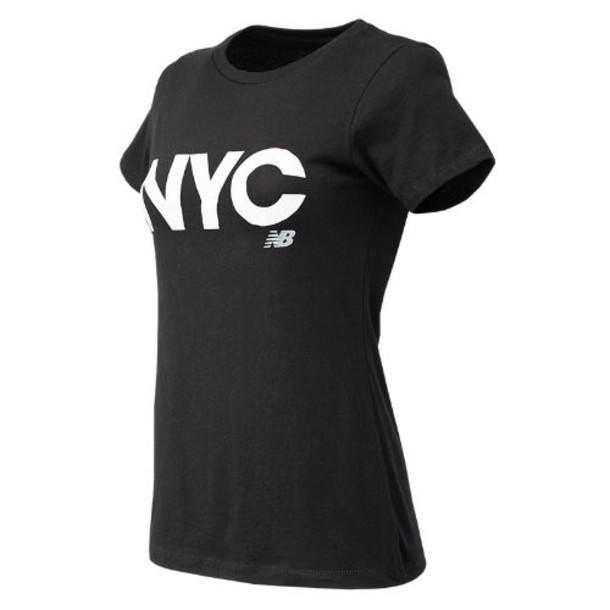New Balance 63580 Women's NYC City Tee - Black (WT63580BK)