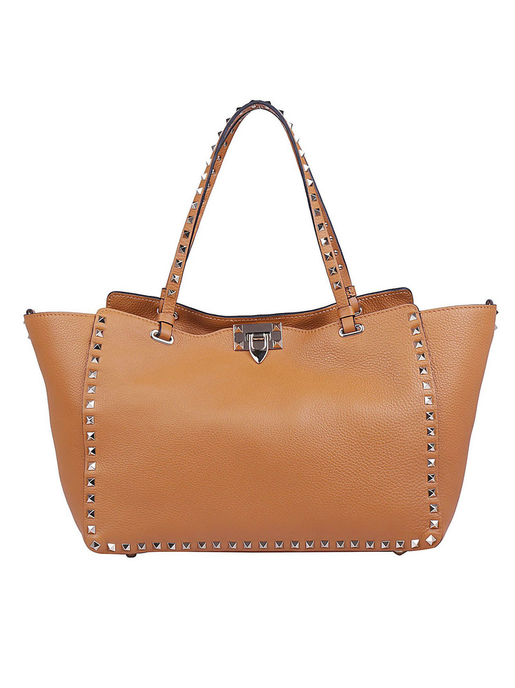 Valentino Garavani Medium Tote Bag in tan