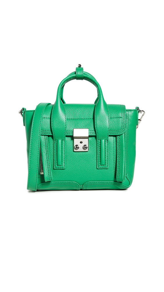 3.1 Phillip Lim Pashli Mini Satchel in green