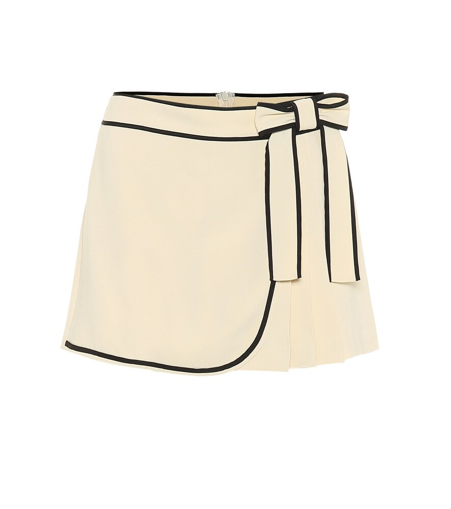 REDValentino Crêpe shorts in beige