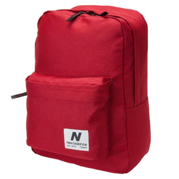 New Balance Men's & Women's NB Classic Backpack - Dark Red (NB-1230DKRD)