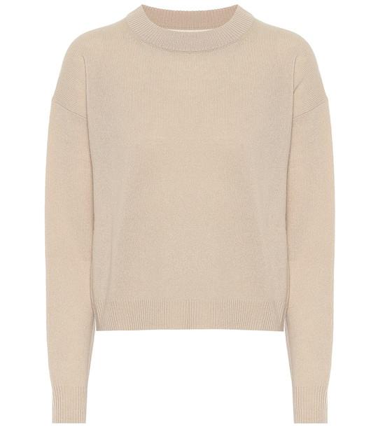 Jardin des Orangers Wool and cashmere sweater in beige