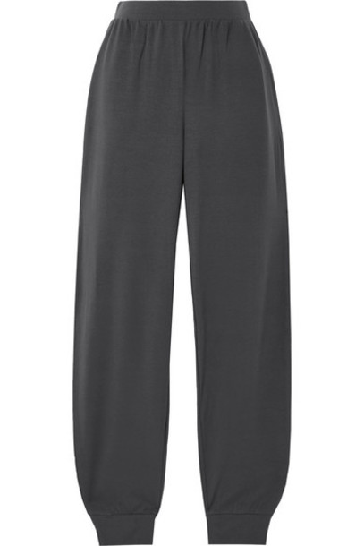 Skin - Flannery Stretch-modal Jersey Pajama Pants - Charcoal