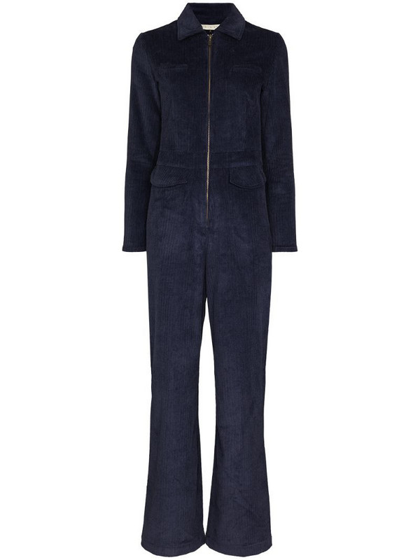 USISI SISTER Cissy corduroy jumpsuit in blue