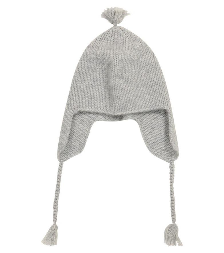 Bonpoint Baby cashmere hat in grey