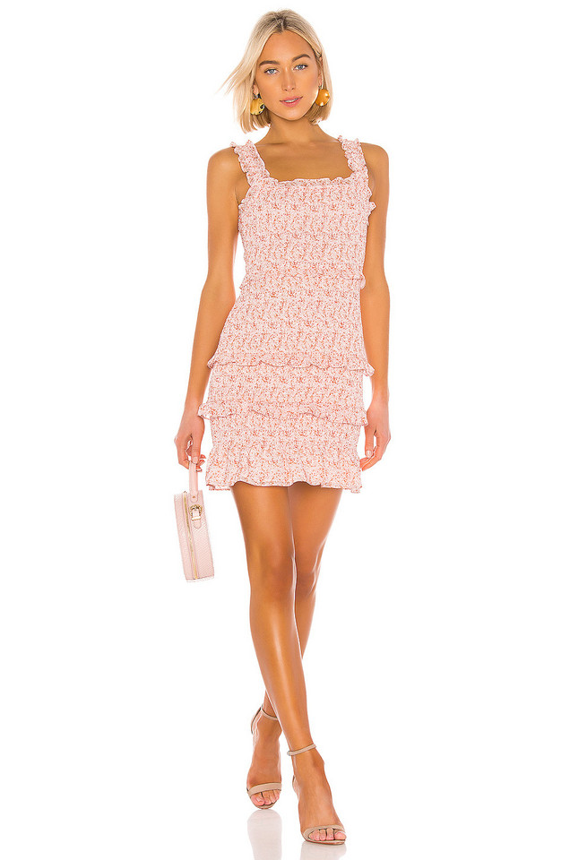 Parker Laurel Dress in pink