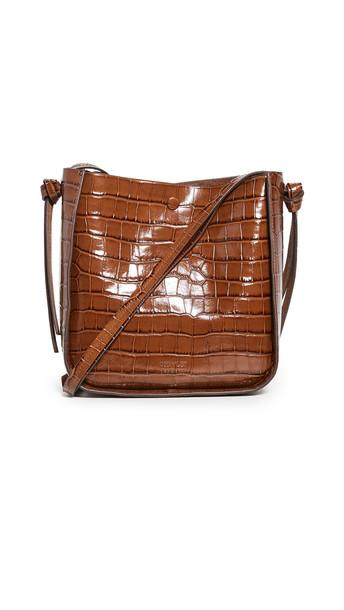 Loeffler Randall Mackenzie Crossbody Bag in brown
