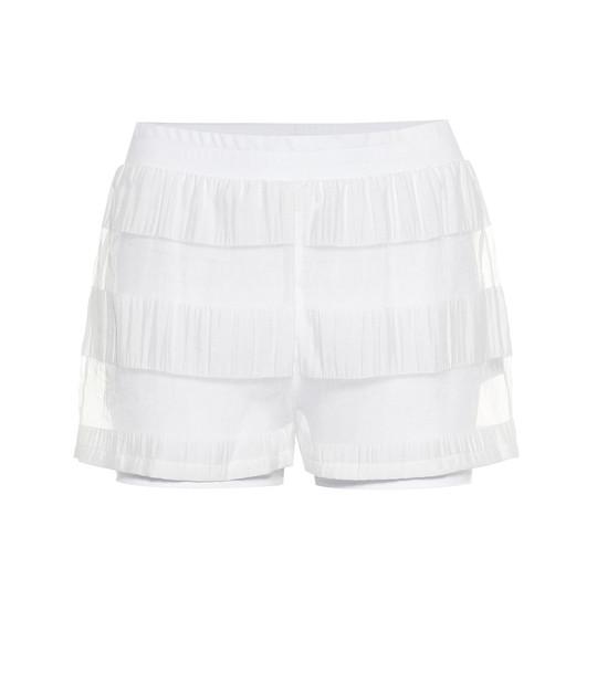 Lanston Sport Leon shorts in white