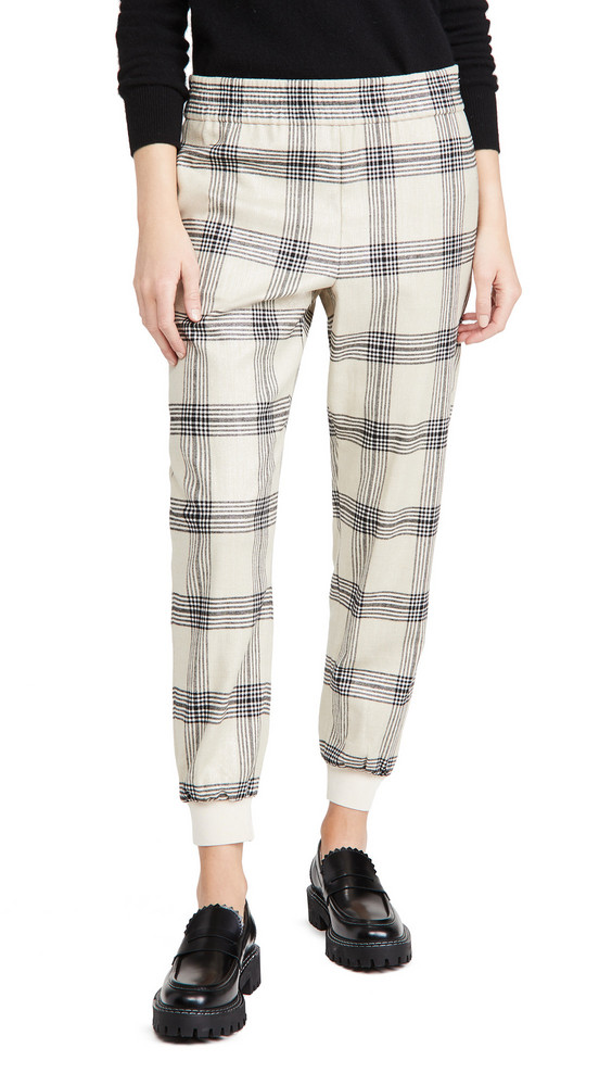 alice + olivia alice + olivia Pete Low Rise Pull Up Pants in multi