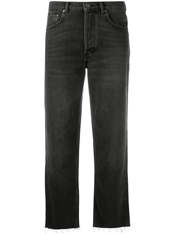 BOYISH DENIM Tommy high-rise straight jeans in grey
