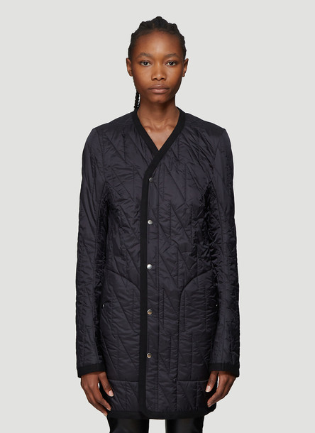 Rick Owens Quilted Jacket in Black size IT - 42