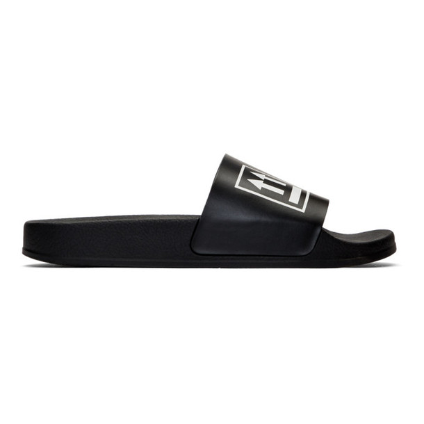 Off-White Black Double Arrow Slides