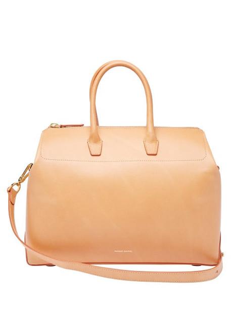 Mansur Gavriel - Travel Medium Leather Bag - Womens - Tan Multi