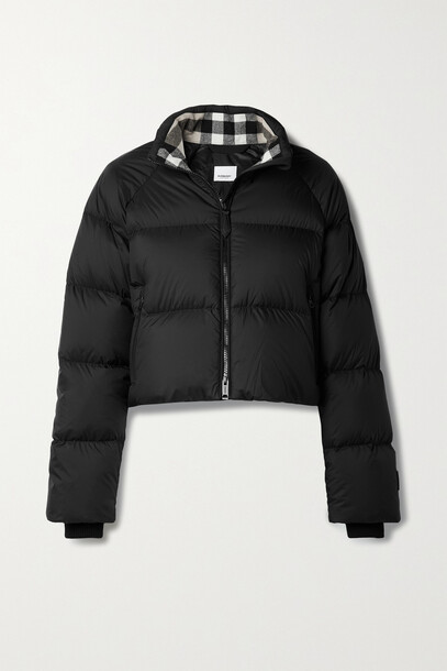 Burberry - Quilted Shell Down Jacket - Black