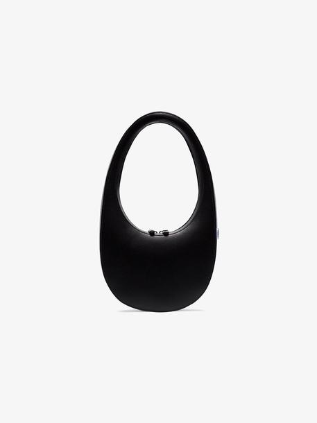Coperni black swipe leather shoulder bag