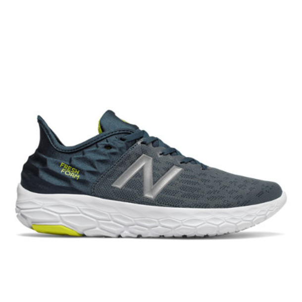 New Balance Fresh Foam Beacon v2 Men's Neutral Cushioned Shoes - Blue/Green (MBECNFG2)